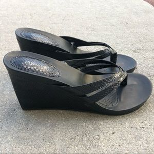 Style and Co Cassiee  Sandals Women's Size 9.5